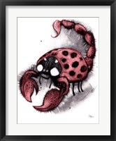 Framed Lady Scorpo
