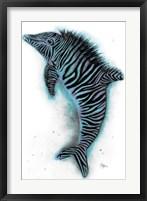 Framed Zebrolphin