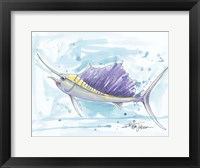 Framed Sailfish