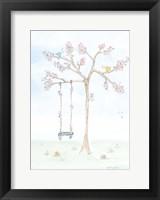 Framed Cherry Blossom Swing
