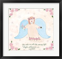 Angels Watching Over Me II Framed Print