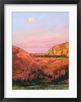 Framed Desert Moon