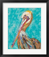 Pelican II Framed Print