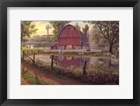 Framed Barnyard Memories