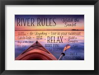 Framed River Rules