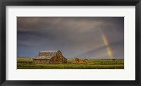 Framed Rainbow Barn