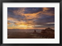 Framed Arizona Sunset