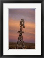 Framed Windmill