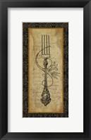 Adriana Fork Framed Print