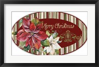 Framed Christmas Time - OvalL Platter