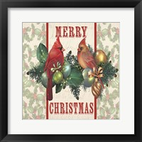 Holly & Berries 1 Framed Print
