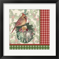 Holly & Berries 2 Framed Print