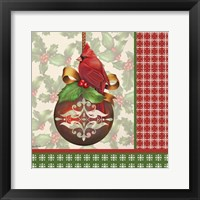 Holly & Berries 3 Framed Print