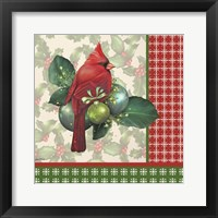 Holly & Berries 5 Framed Print