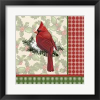Holly & Berries 6 Framed Print