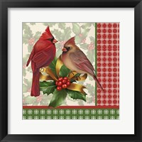 Holly & Berries 8 Framed Print