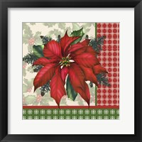 Holly & Berries 9 Framed Print
