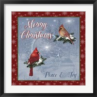 Framed Merry Christmas II