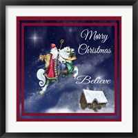Merry Christmas III Framed Print