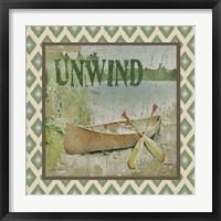 Framed Canoe - Unwind
