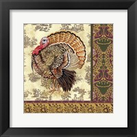 Framed Tom Turkey II