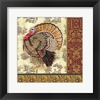 Framed Tom Turkey III
