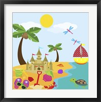 Beach Time II Framed Print