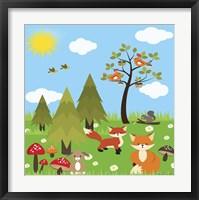 Woodland I Framed Print