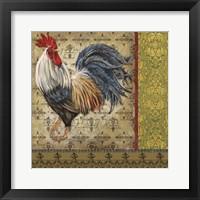 Vintage Rooster I Framed Print