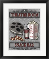 Movie Night III Framed Print