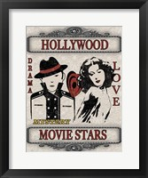Movie Night - Light II Framed Print