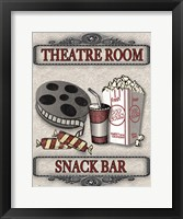 Movie Night - Light III Framed Print