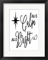 Framed Calm Bright