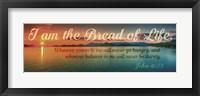 Framed John 6:35 I am the Bread of Life (Sunset)