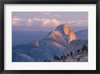 Framed Sunny Mountain Top