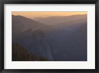 Framed Hazy Mountains