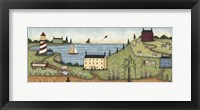 The Edge Of Town Framed Print