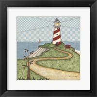 Lighthouse 1 Framed Print