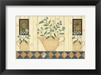 Flower Pot Framed Print