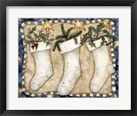 Framed Christmas Stockings