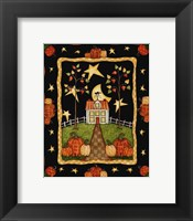 Autumn's Eve Framed Print
