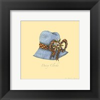 Daisy Cloche Framed Print