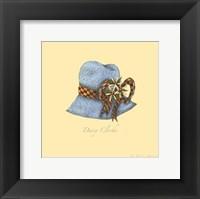 Daisy Cloche Framed Print