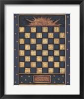 Sun Checkers Framed Print