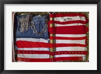 Framed American Suitcase