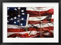 Framed American Wrap
