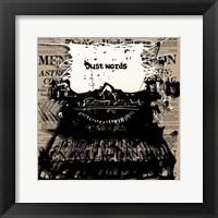 Just Words 2 Framed Print