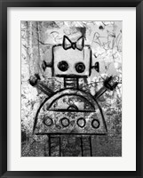 Framed Girl Robot