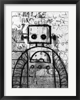 Framed Graffiti Robot
