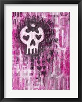 Framed Love Skull Princess